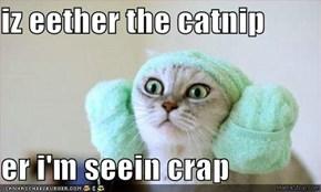 iz eether the catnip  er i'm seein crap