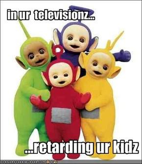 in ur  televisionz...