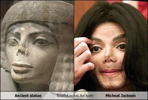 Ancient statue Totally Looks Like Micheal Jackson