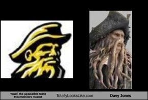 Yosef, the Appalachia State Mountaineers mascot Totally Looks Like Davy Jones