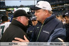 Andy Reid Totally Looks Like Mike Holmgren