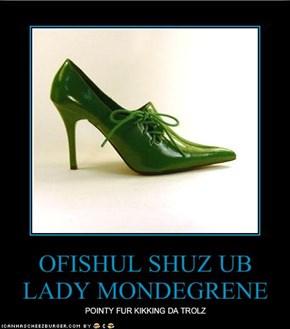 OFISHUL SHUZ UB LADY MONDEGRENE