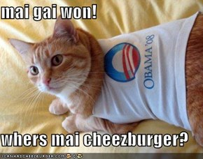 mai gai won!  whers mai cheezburger?