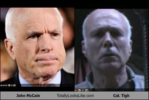 John McCain Totally Looks Like Col. Tigh