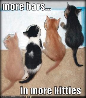 more bars...  in more kitties