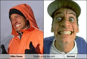 Mike Rowe Totally Looks Like Earnest