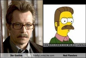Jim Gordon Totally Looks Like Ned Flanders