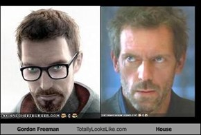 Gordon Freeman Totally Looks Like House