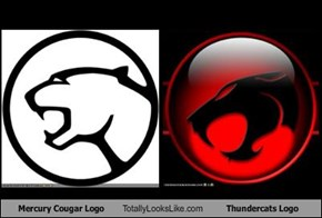 Mercury Cougar Logo Totally Looks Like Thundercats Logo