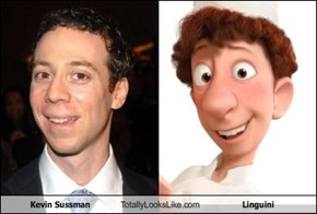 Kevin Sussman Totally Looks Like Linguini