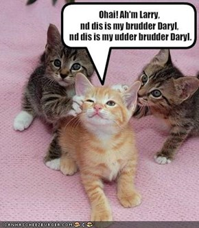 Ohai! Ah'm Larry, 