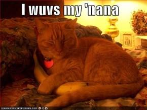 I wuvs my 'nana