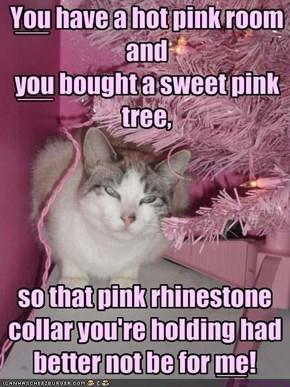 a kitteh pink nightmare