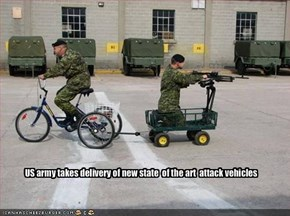 US army takes delivery of new state  of the art  attack vehicles