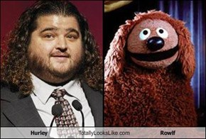 Hurley Totally Looks Like Rowlf