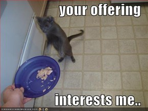 your offering  interests me..