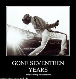 GONE SEVENTEEN YEARS