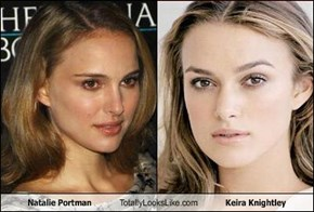 Natalie Portman Totally Looks Like Keira Knightley