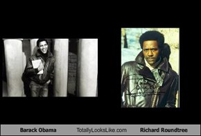 Barack Obama Totally Looks Like Richard Roundtree