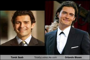 Tarek Saab Totally Looks Like Orlando Bloom