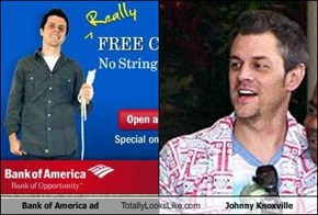Bank of America ad Totally Looks Like Johnny Knoxville