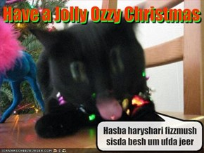 Have a Jolly Ozzy Christmas