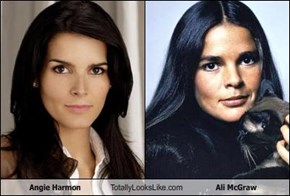 Angie Harmon Totally Looks Like Ali McGraw