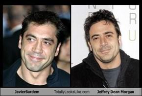 JavierBardem Totally Looks Like Jeffrey Dean Morgan