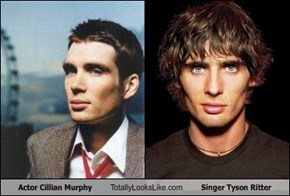 Actor Cillian Murphy Totally Looks Like Singer Tyson Ritter