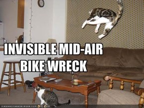 INVISIBLE MID-AIR BIKE WRECK