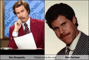 Ron Burgandy Totally Looks Like Ron Perlman