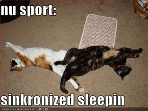 nu sport:  sinkronized sleepin
