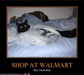 SHOP AT WALMART