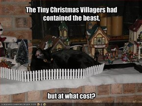 The Tiny Christmas Villagers had 