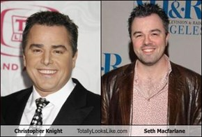 Christopher Knight Totally Looks Like Seth Macfarlane