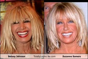 Betsey Johnson Totally Looks Like Suzanne Somers
