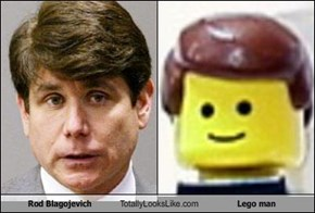 Rod Blagojevich Totally Looks Like Lego man