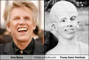 Gary Busey Totally Looks Like Young Jason Voorhees