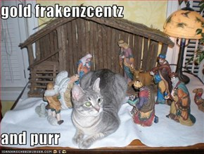 gold frakenzcentz   and purr
