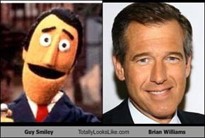 Guy Smiley Totally Looks Like Brian Williams