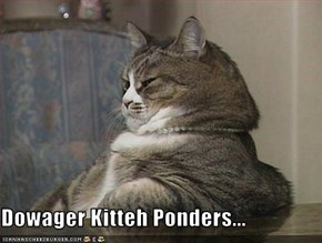 Dowager Kitteh Ponders...