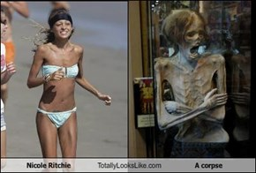 Nicole Ritchie Totally Looks Like A corpse