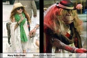 Mary Kate Olsen Totally Looks Like ET