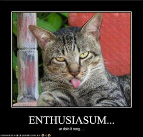 ENTHUSIASUM...