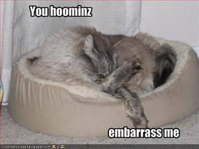 You hoominz