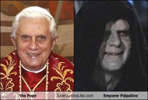 the Pope Totally Looks Like Emporer Palpatine