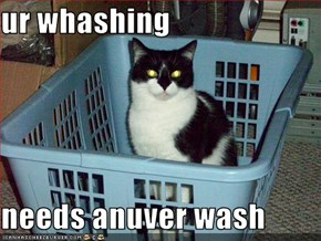 ur whashing  needs anuver wash
