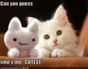 Can you guess  who's the ''CUTEST''