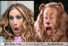 Sarah Jessica Parker Totally Looks Like The Cowardly Lion