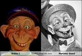 Bubba J Totally Looks Like Mortimer Snerd